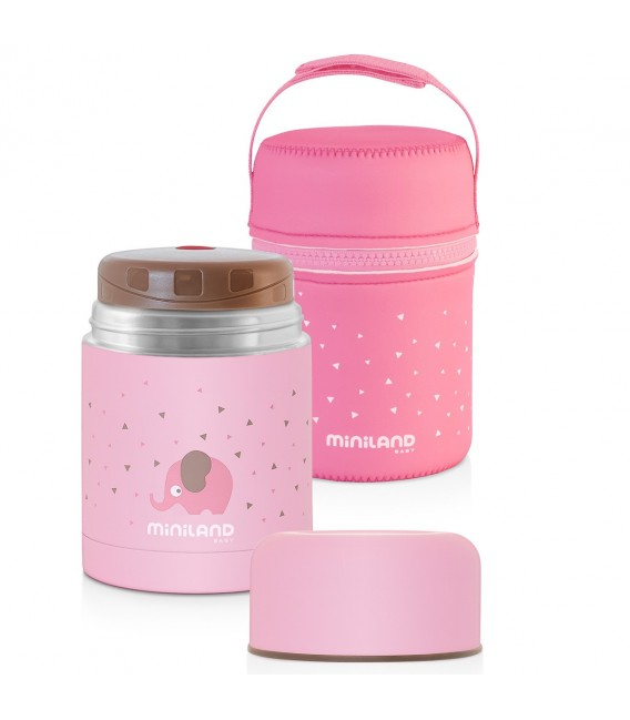 TERMOS SOLIDOS SILKY FOOD THERMOS 600 ML. 89221, 89222 MINILAND