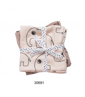 PACK 2 MUSELINAS SWADDLE 2-PACK CONTOUR 30691, 30692, 30695 DONE BY DEER