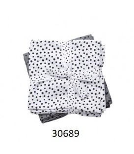 PACK 2 GASAS BURP CLOTH HAPPY DOTS 30689 DONE BY DEER